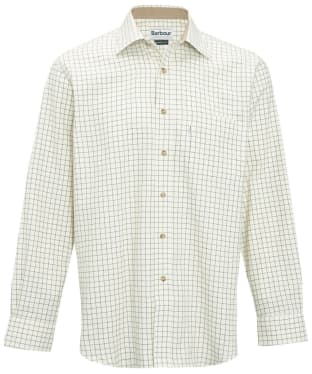 Men's Barbour Field Tattersall Shirt - Classic collar