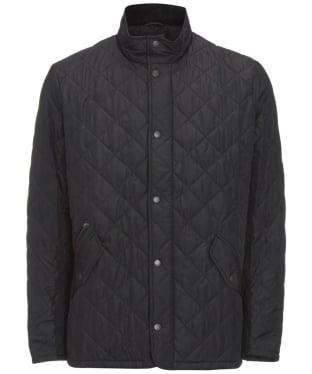Men's Barbour Chelsea Sportsquilt Jacket - Black