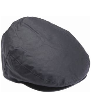 Men's Barbour Waxed Flat Cap - Navy