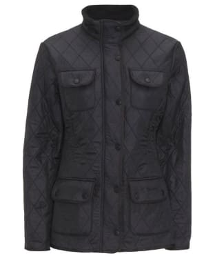 Women's Barbour Utility Polarquilt Jacket - Black