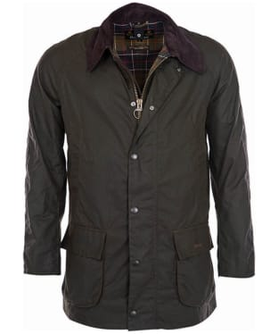 Men's Barbour Bristol Waxed Jacket - Olive