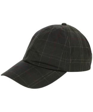 Men's Barbour Tartan Waxed Sports Cap - Classic Tartan