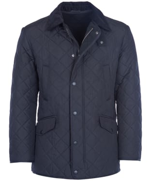 Men's Barbour Bardon Quilted Jacket - Navy