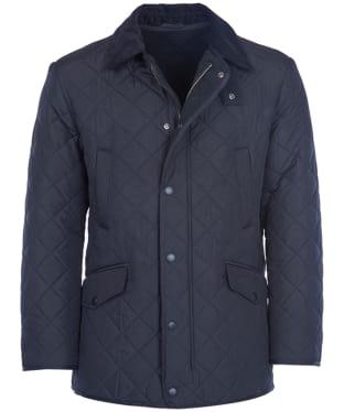 Men's Barbour Bardon Quilted Jacket - Navy