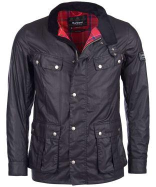 Men's Barbour International Enfield Jacket - Black