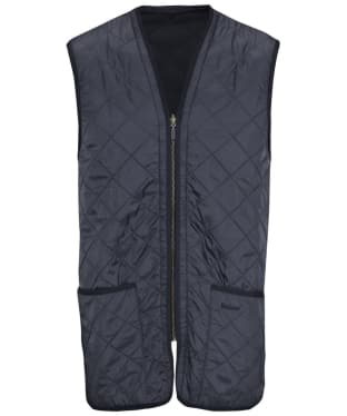 Men's Barbour Polarquilt Waistcoat / Zip-In Liner - Navy