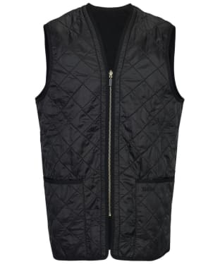 Men's Barbour Polarquilt Waistcoat / Zip-In Liner - Black