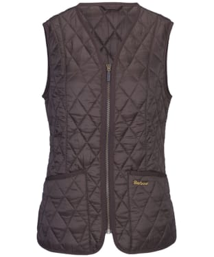 Women's Barbour Betty Interactive Liner - Dark Brown