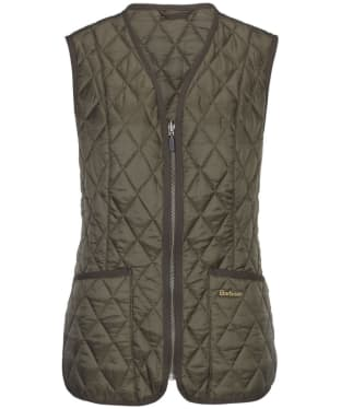 Women's Barbour Betty Interactive Liner - Olive