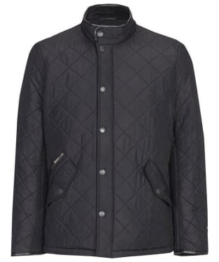 Men's Barbour Powell Quilted Jacket - Black