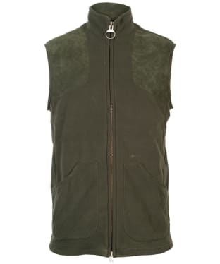 Men's Barbour Dunmoor Fleece Gilet - Olive