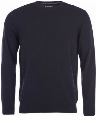 Men's Barbour Essential Lambswool Crew Neck Sweater
