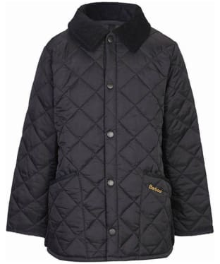Boy's Barbour Liddesdale Quilted Jacket, 2-9yrs - Black