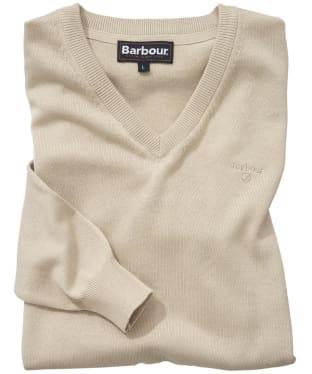 Men's Barbour Pima Cotton V-Neck Sweater