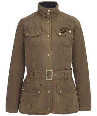 Women's Barbour Vintage International Waxed Jacket