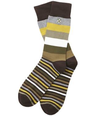Men's Barbour Heywood Socks - Olive / Green
