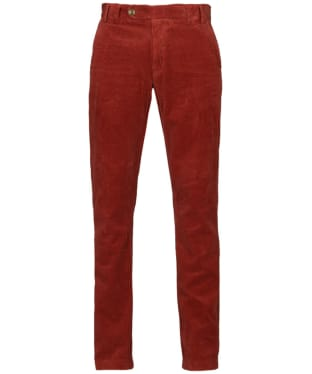 Men's Barbour Claremount Cord Trousers - Merlot