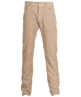 Men's Barbour Essential Skinny Cords - Stone