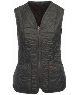 Women's Barbour Fleece Betty Interactive Liner - Dark Olive