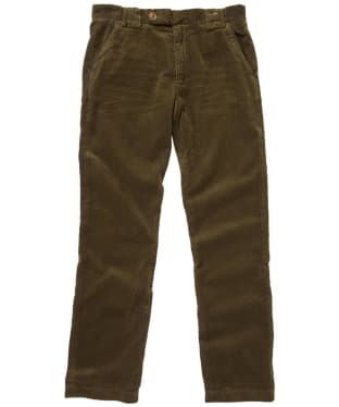 Men's Barbour Claremount Cord Trousers - Olive