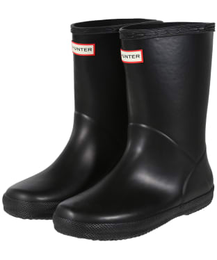 Hunter Kids First Classic Wellington Boots - Black