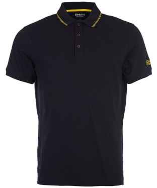 Men's Barbour International Polo Shirt - Black