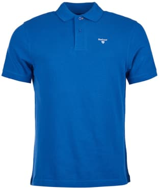 Men's Barbour Sports Polo 215G - Atlantic Blue