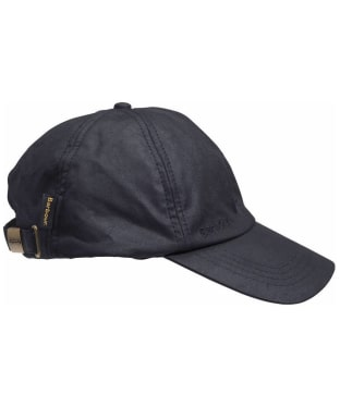 Men's Barbour Waxed Sports Cap - Navy