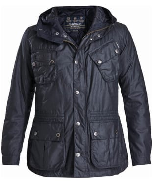 Men's Barbour International Fog Waxed Parka