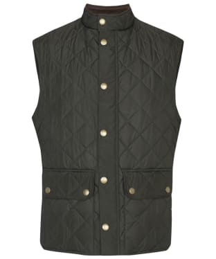 Men's Barbour Lowerdale Gilet - Dark Green
