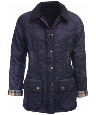 Women's Barbour Beadnell Polarquilt - Navy