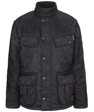 Boy's Barbour Ariel Polarquilt Jacket, 2-9yrs - Black