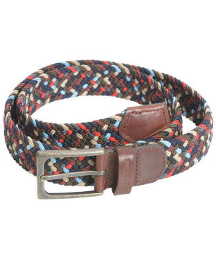 Men's Barbour Ford Belt - Navy Mix