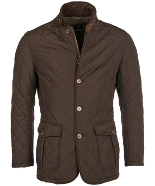 Men's Barbour Lutz Quilted Jacket - Olive