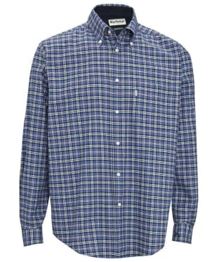 Men's Barbour Bisley Shirt - Blue
