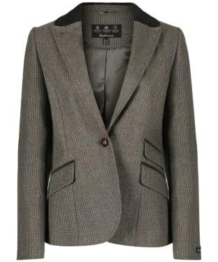 Women's Barbour Eglington Blazer Jacket - Olive