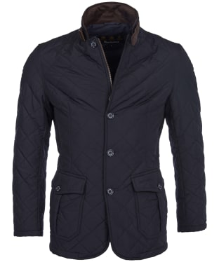 Men's Barbour Quilted Lutz Jacket - Navy