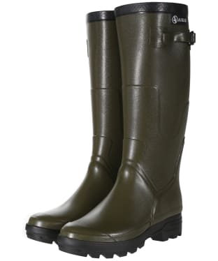 Aigle Benyl Medium Wellington Boots - Khaki