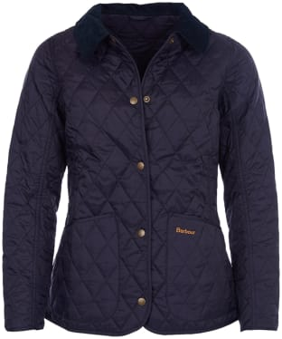 Women's Barbour Annandale Quilted Jacket - Navy