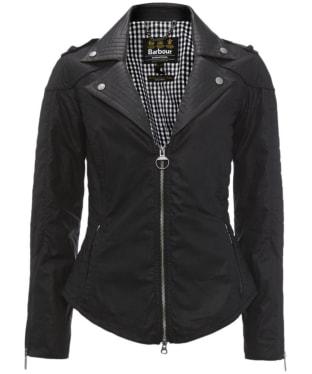 Women's Barbour International Pivot Waxed Jacket
