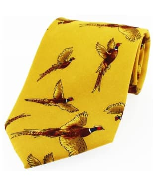 Men's Soprano Large Flying Pheasants Tie