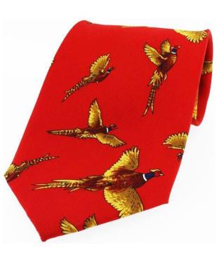 Men's Soprano Large Flying Pheasants Tie