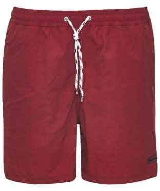 Men's Barbour Lomond Shorts - Red