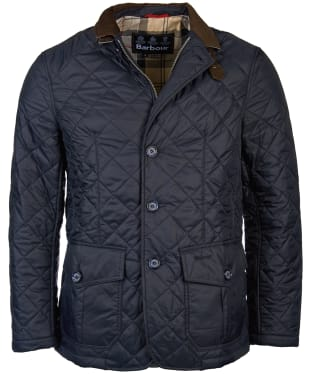 Men's Barbour Quilted Sander Jacket - Navy