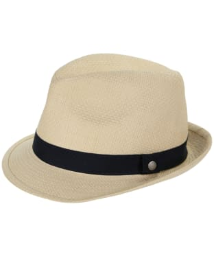 28705a437f99b Men s Barbour Emblem Trilby Hat - Natural