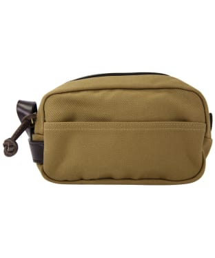 Men's Filson Travel Kit Wash Bag - Tan