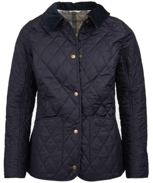 Women's Barbour Spring Annandale Quilted Jacket - Navy
