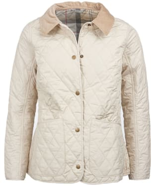 Women's Barbour Spring Annandale Quilted Jacket - Pearl