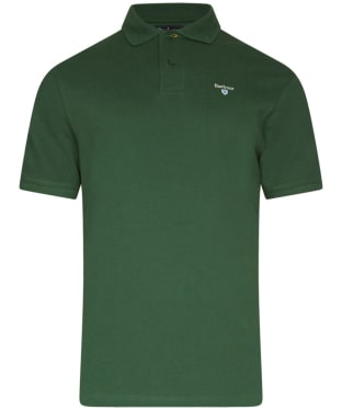 Men's Barbour Sports Polo 215G - Racing Green