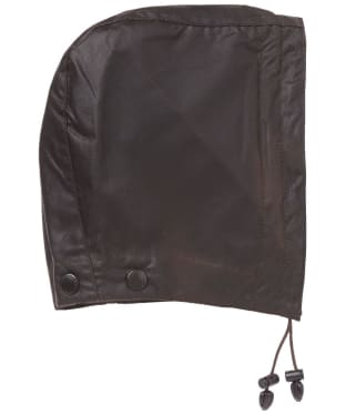 Barbour Waxed Cotton Hood - Rustic
